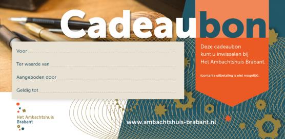 Hedendaags Cadeaubon DY-04